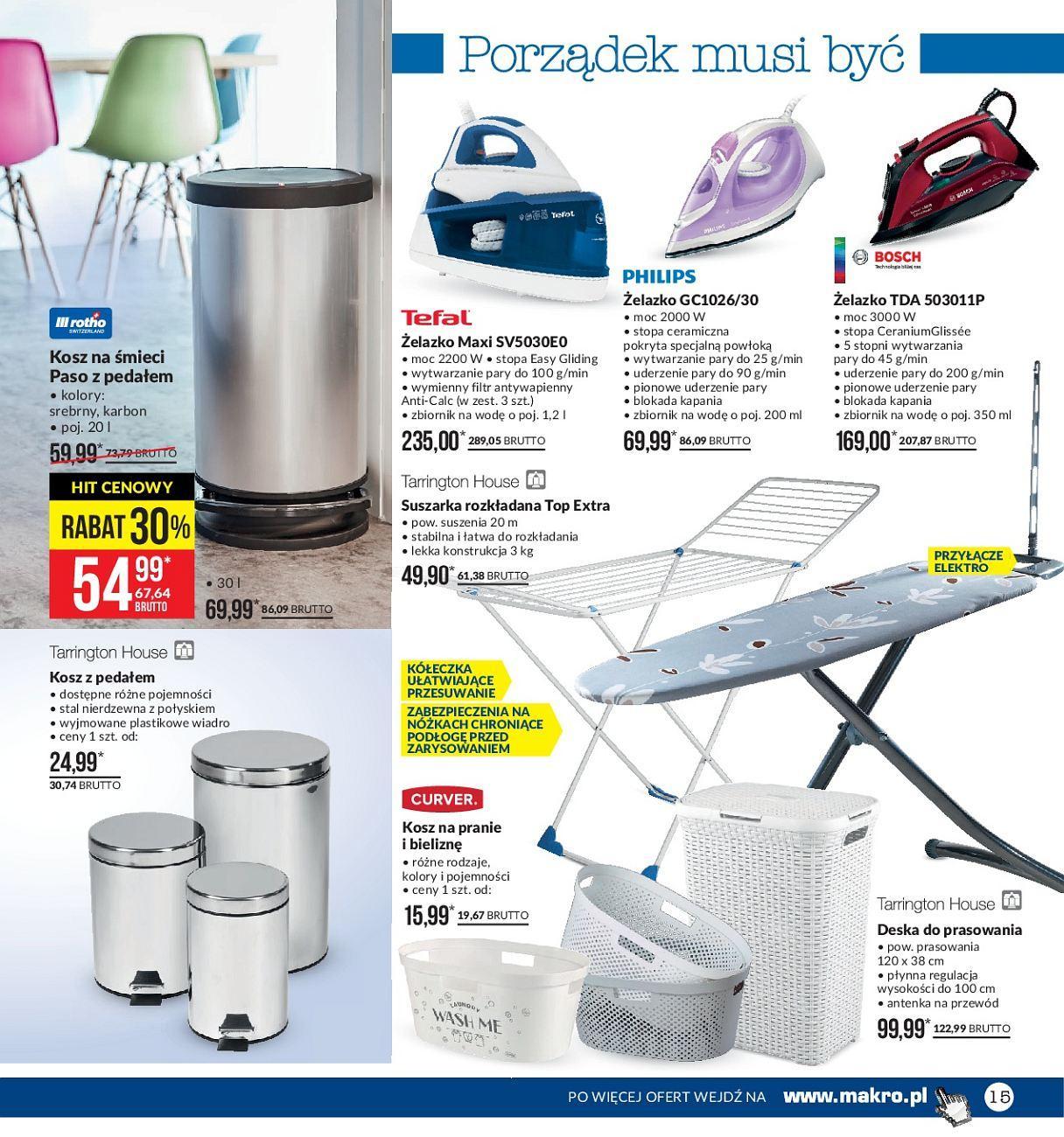 Gazetka promocyjna MAKRO do 04/06/2018 str.15