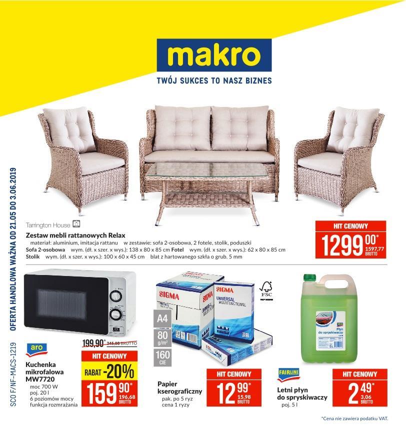 Gazetka promocyjna MAKRO do 03/06/2019 str.0
