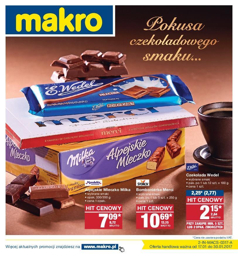 Gazetka promocyjna MAKRO do 30/01/2017 str.0