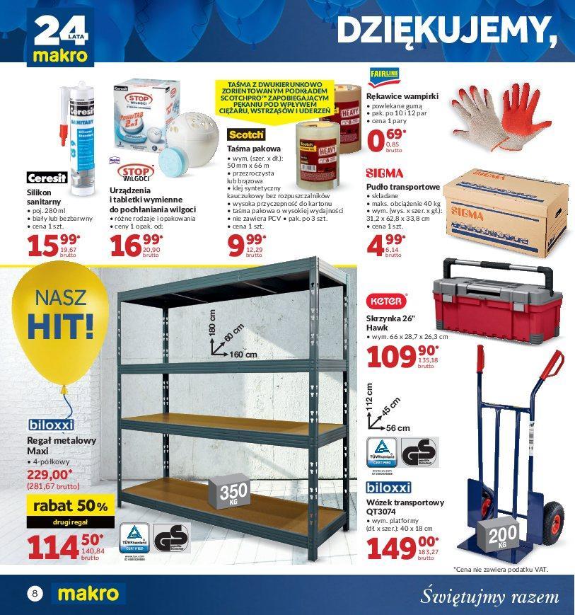 Gazetka promocyjna MAKRO do 22/10/2018 str.8