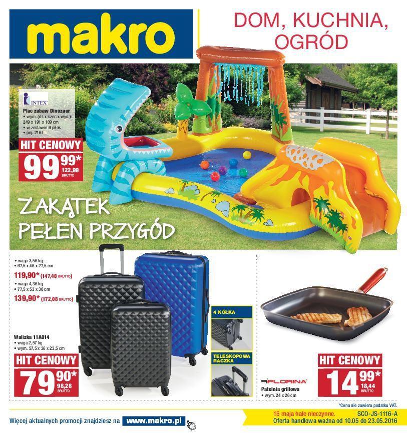 Gazetka promocyjna MAKRO do 23/05/2016 str.0