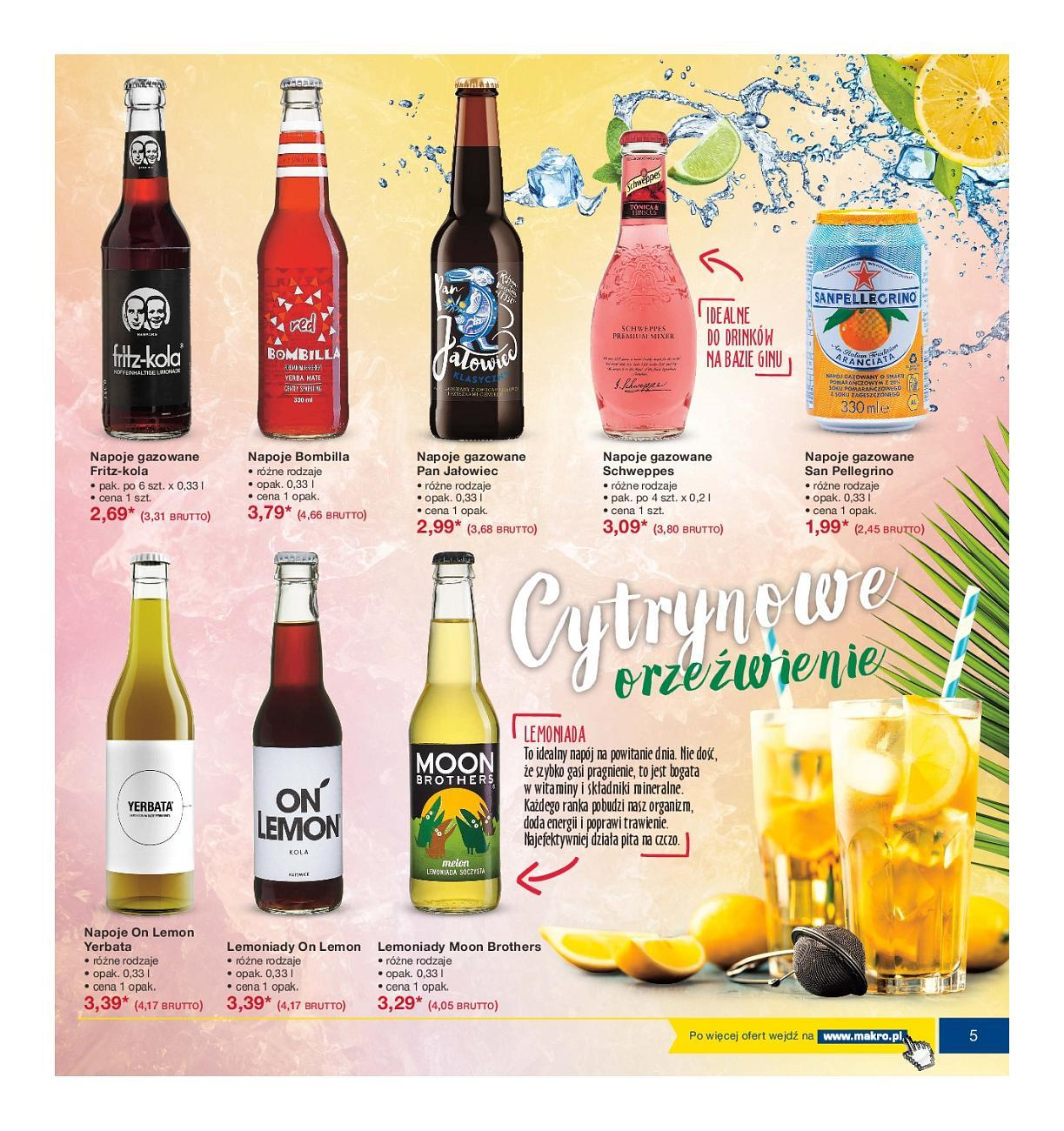 Gazetka promocyjna MAKRO do 16/07/2018 str.4