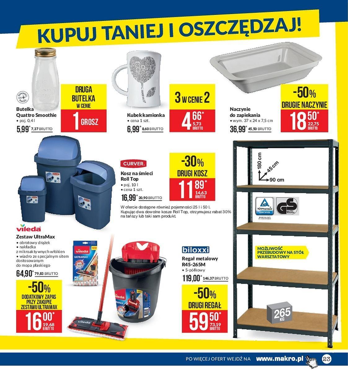 Gazetka promocyjna MAKRO do 23/04/2018 str.22