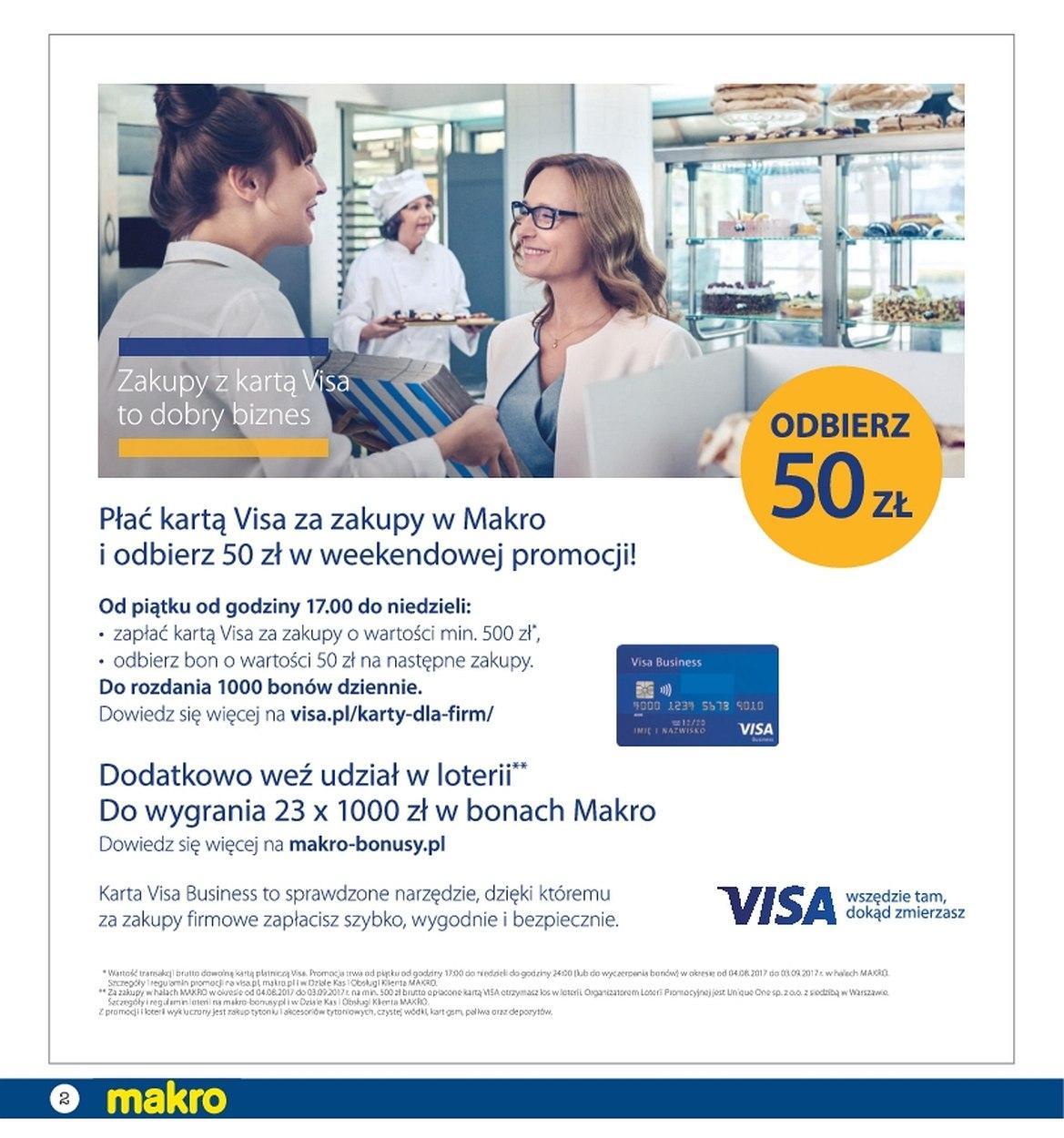 Gazetka promocyjna MAKRO do 28/08/2017 str.1