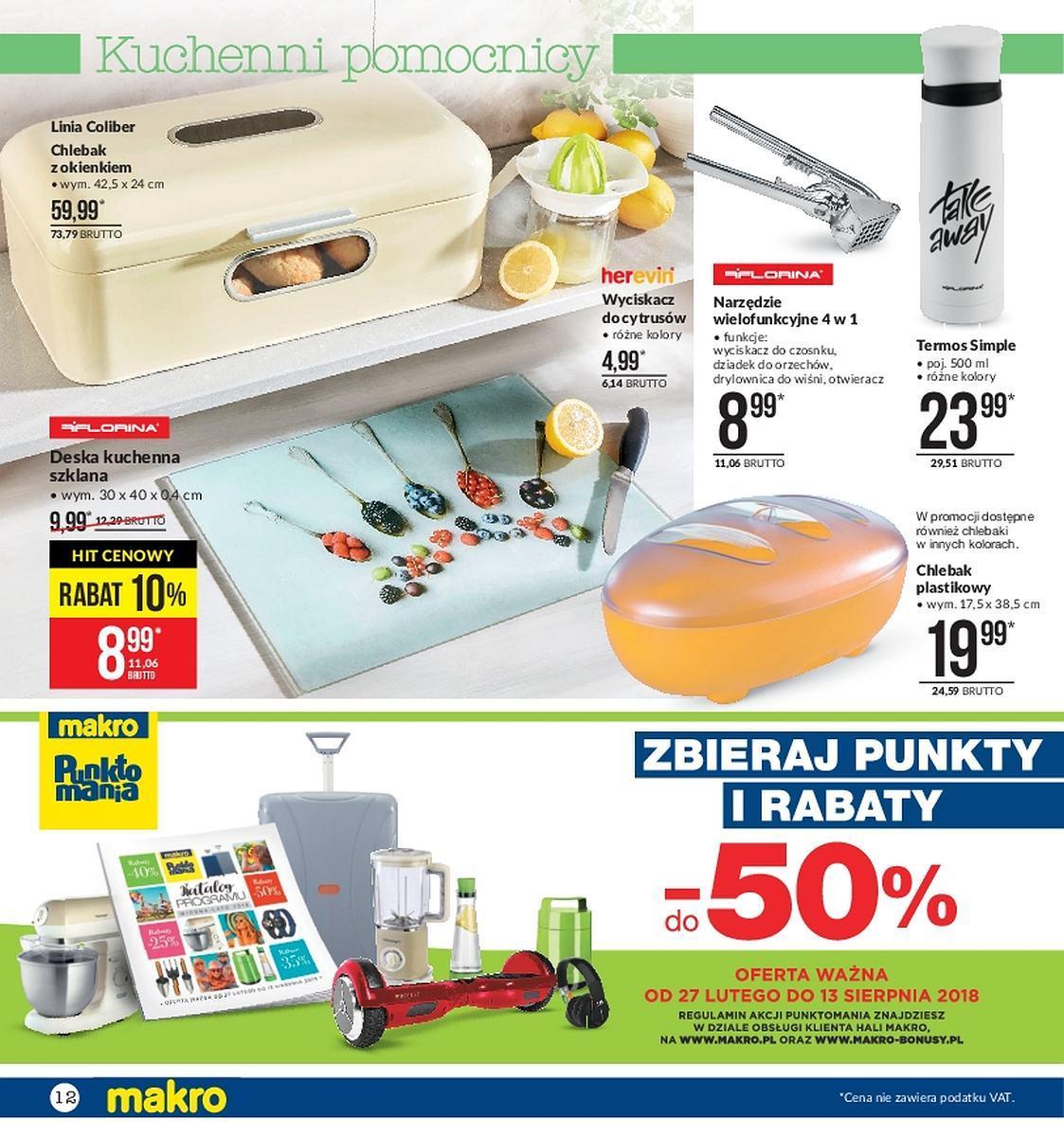 Gazetka promocyjna MAKRO do 23/04/2018 str.11
