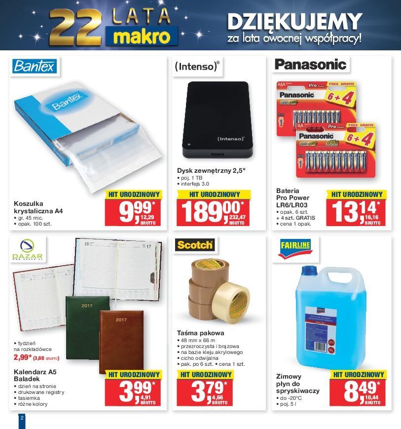 Gazetka promocyjna MAKRO do 10/10/2016 str.1