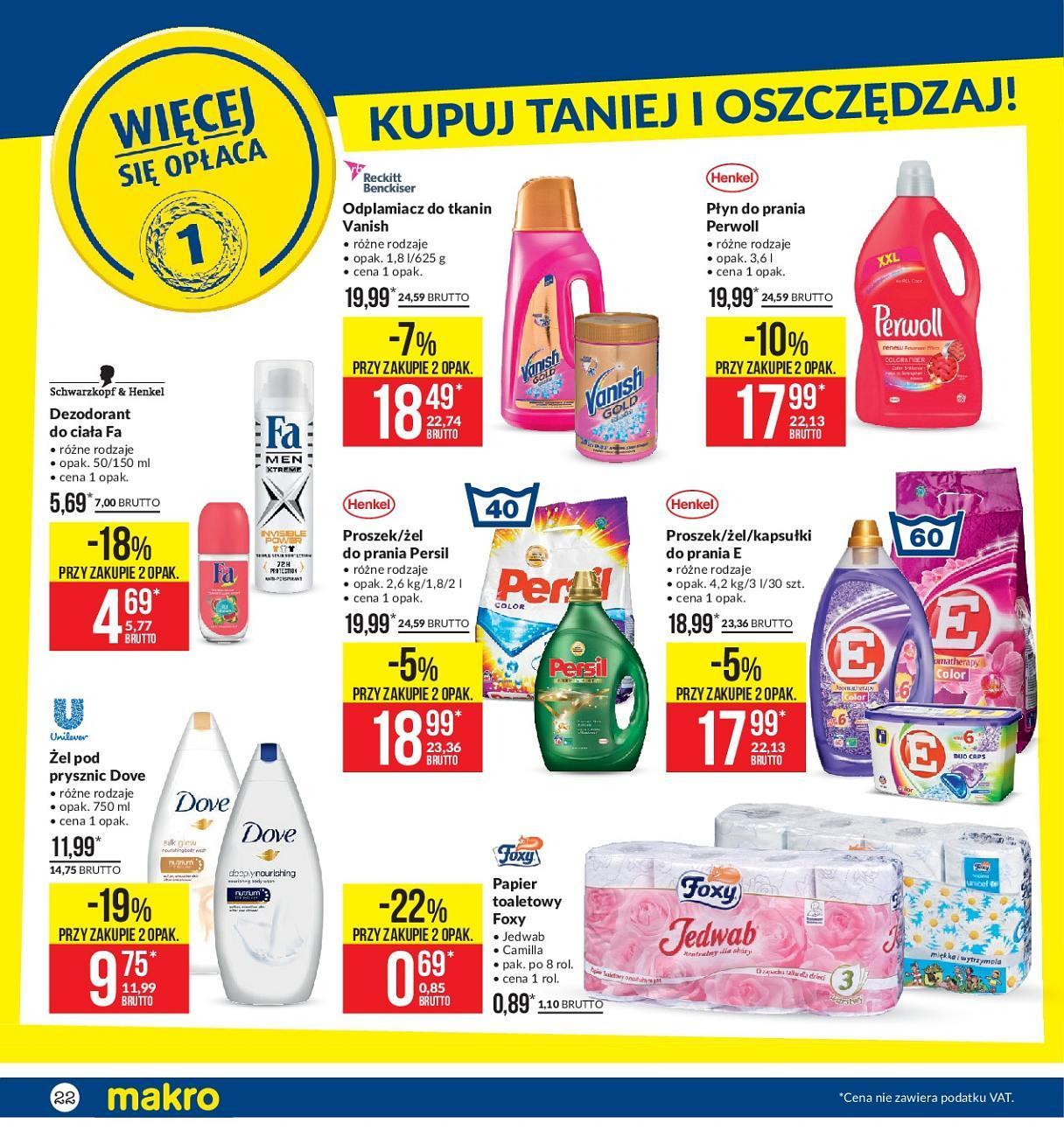 Gazetka promocyjna MAKRO do 13/08/2018 str.22