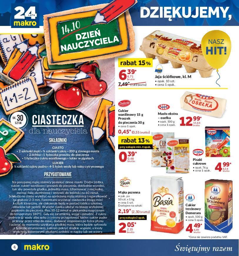 Gazetka promocyjna MAKRO do 22/10/2018 str.3