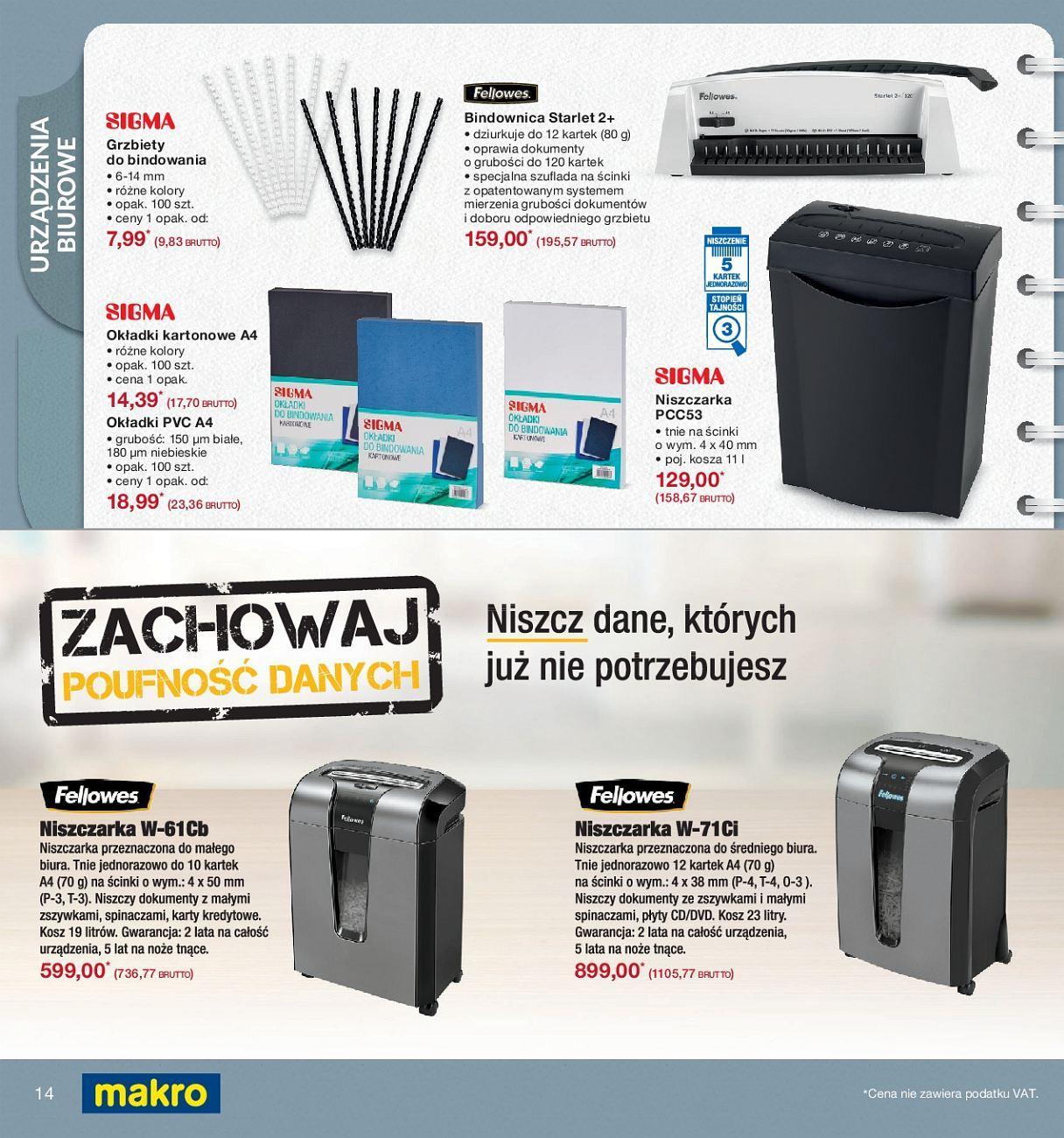 Gazetka promocyjna MAKRO do 24/09/2018 str.13