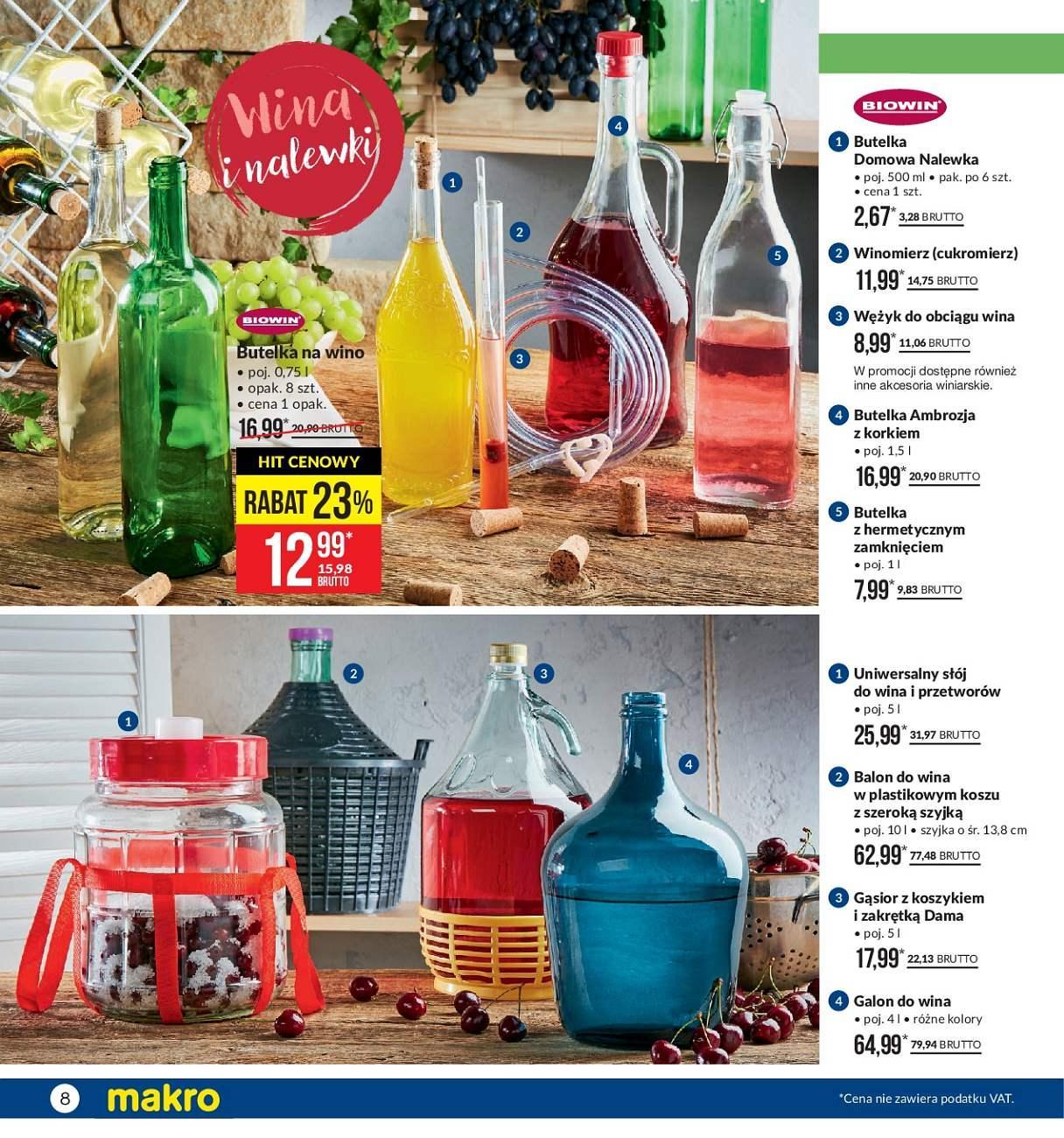 Gazetka promocyjna MAKRO do 13/08/2018 str.8