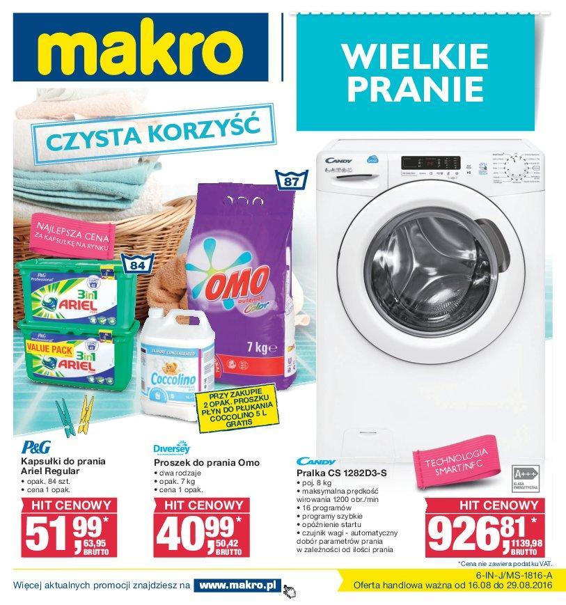 Gazetka promocyjna MAKRO do 29/08/2016 str.0