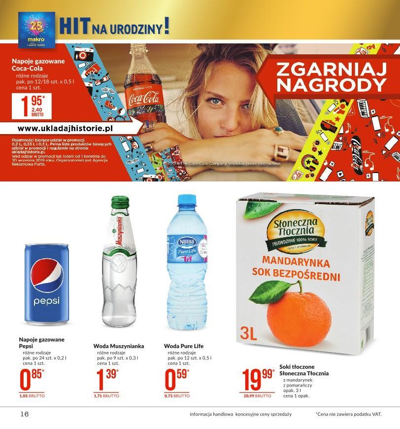 Gazetka promocyjna MAKRO do 26/08/2019 str.15