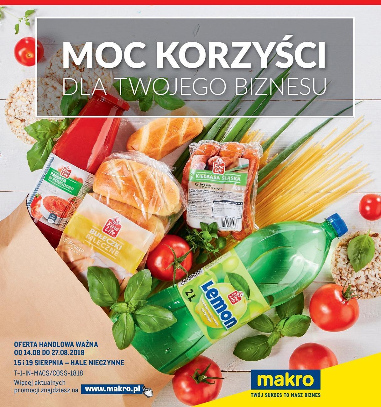 Gazetka promocyjna MAKRO do 27/08/2018 str.0