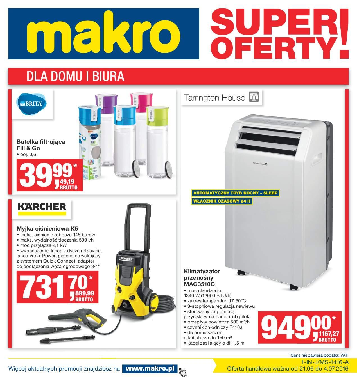 Gazetka promocyjna MAKRO do 04/07/2016 str.0