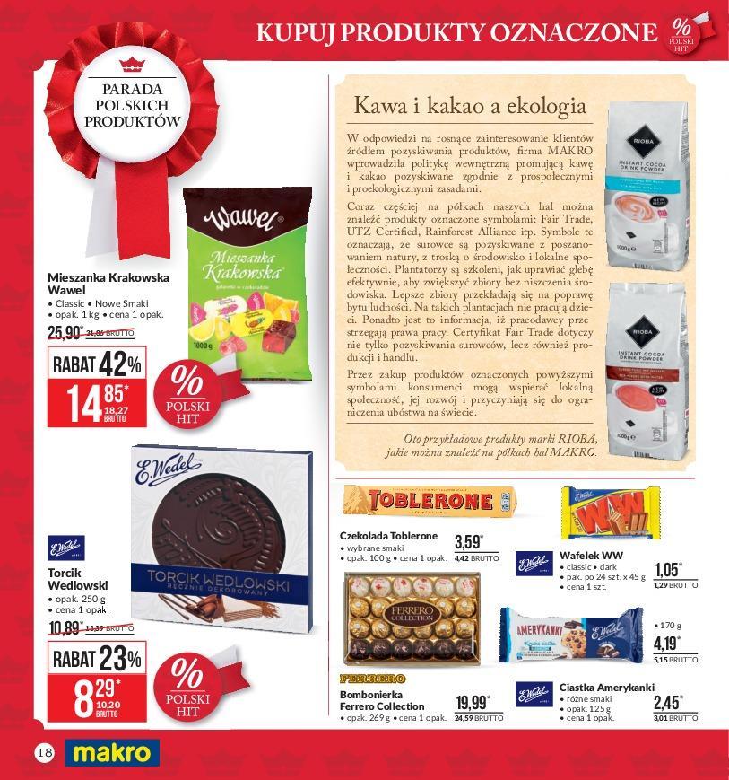 Gazetka promocyjna MAKRO do 05/11/2018 str.17
