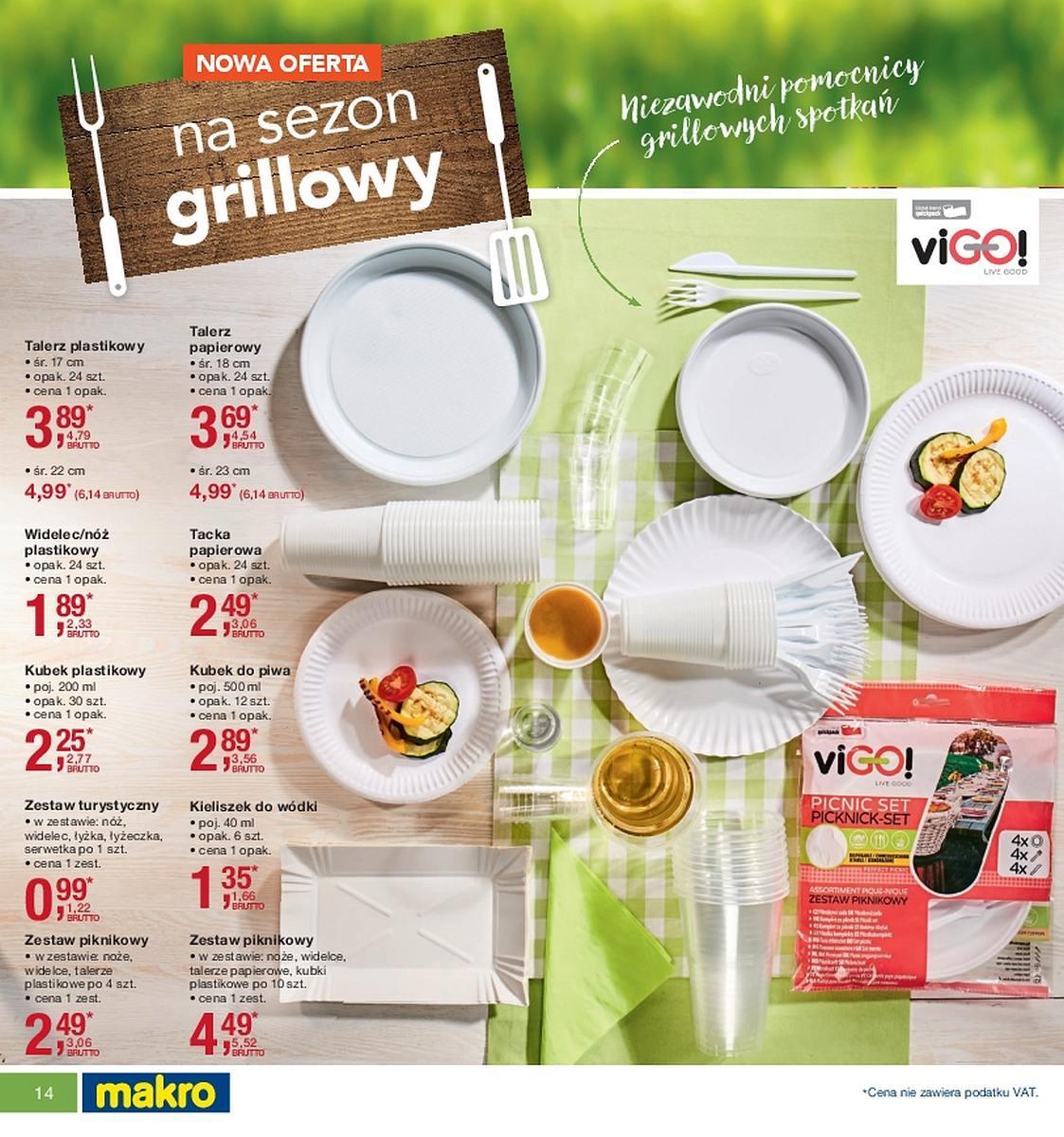 Gazetka promocyjna MAKRO do 07/05/2018 str.14