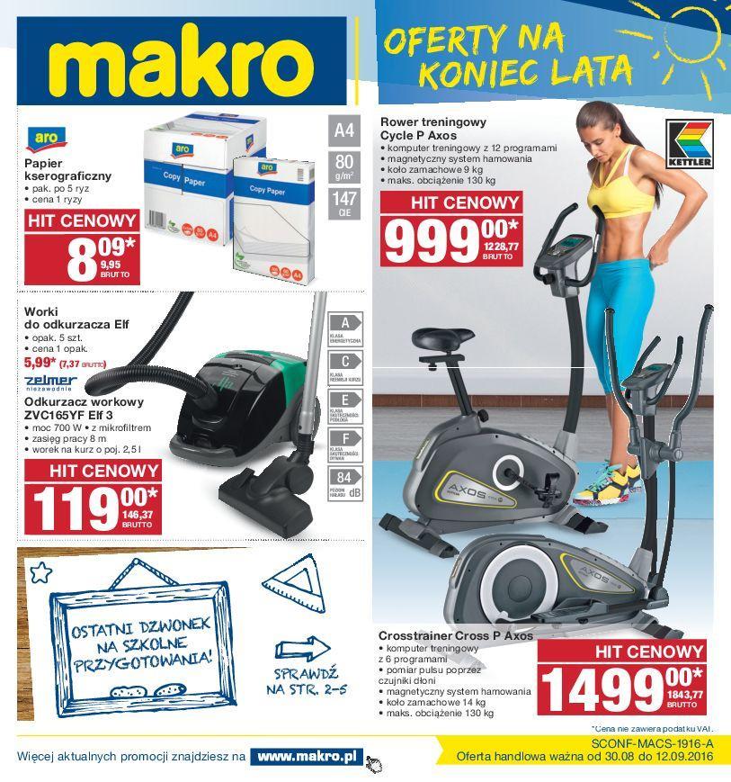 Gazetka promocyjna MAKRO do 12/09/2016 str.0