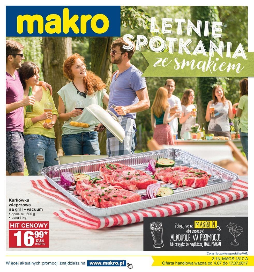 Gazetka promocyjna MAKRO do 17/07/2017 str.0