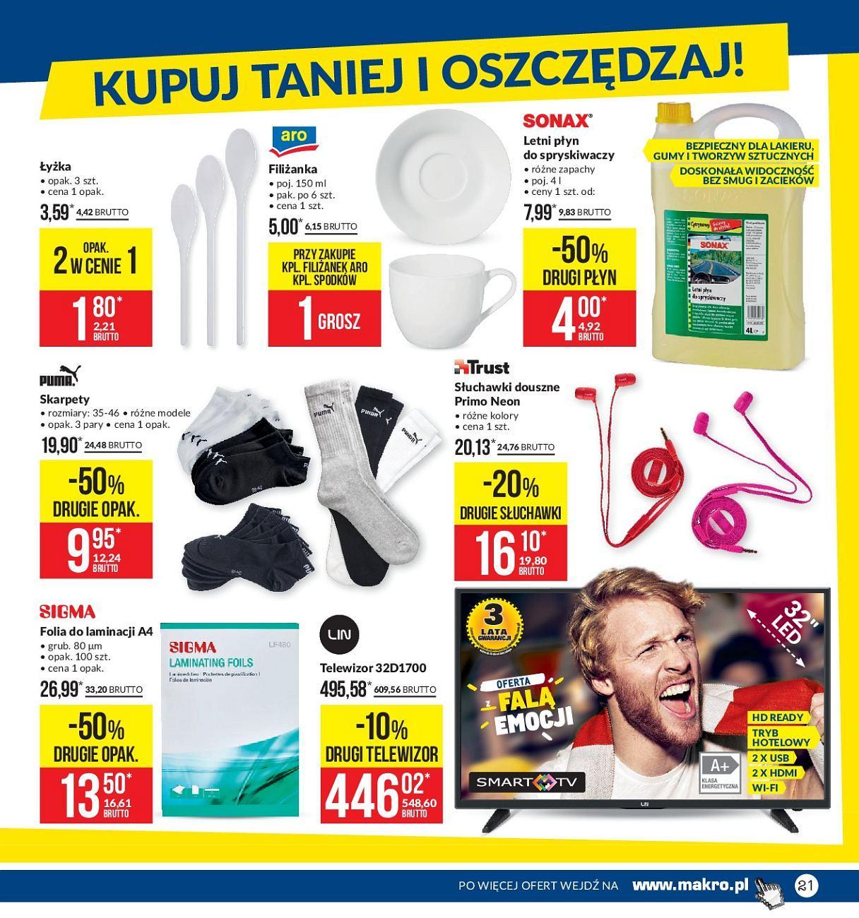 Gazetka promocyjna MAKRO do 04/06/2018 str.20