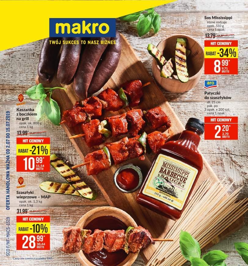 Gazetka promocyjna MAKRO do 15/07/2019 str.0