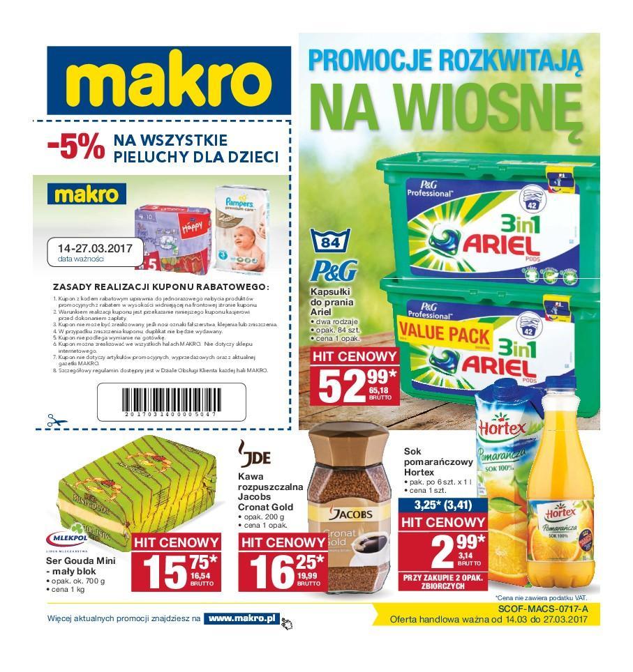 Gazetka promocyjna MAKRO do 27/03/2017 str.0