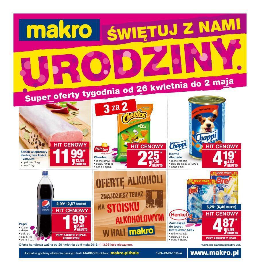 Gazetka promocyjna MAKRO do 09/05/2016 str.0