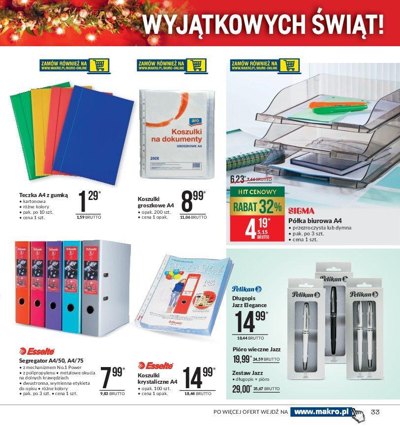 Gazetka promocyjna MAKRO do 24/12/2018 str.33