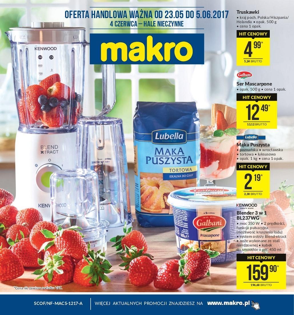 Gazetka promocyjna MAKRO do 05/06/2017 str.0