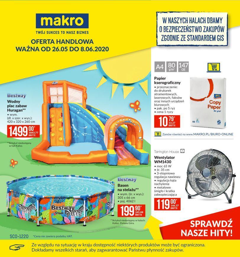 Gazetka promocyjna MAKRO do 08/06/2020 str.1