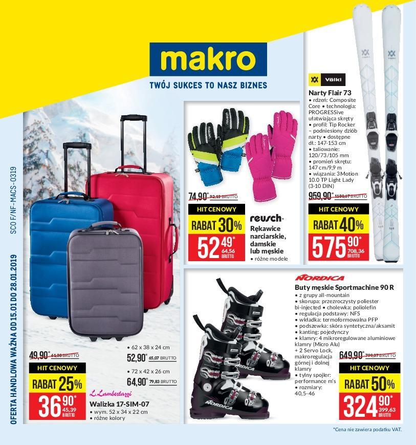 Gazetka promocyjna MAKRO do 28/01/2019 str.1