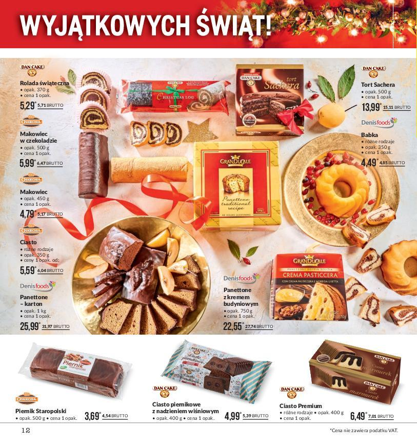 Gazetka promocyjna MAKRO do 24/12/2018 str.12