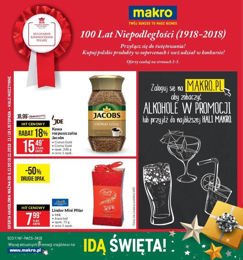 Gazetka promocyjna MAKRO do 19/11/2018 str.0