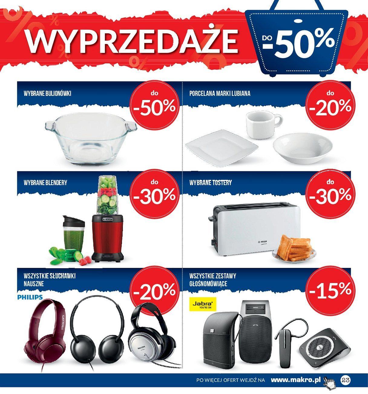 Gazetka promocyjna MAKRO do 02/07/2018 str.23
