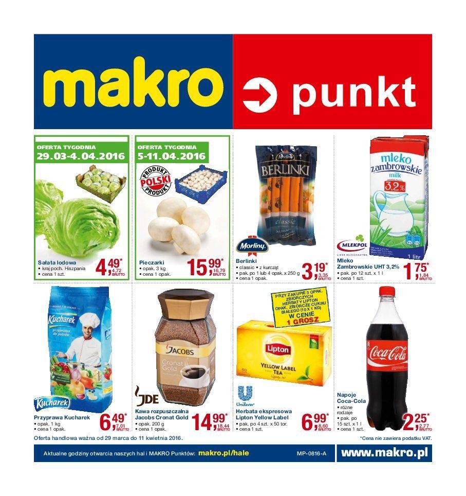 Gazetka promocyjna MAKRO do 11/04/2016 str.0