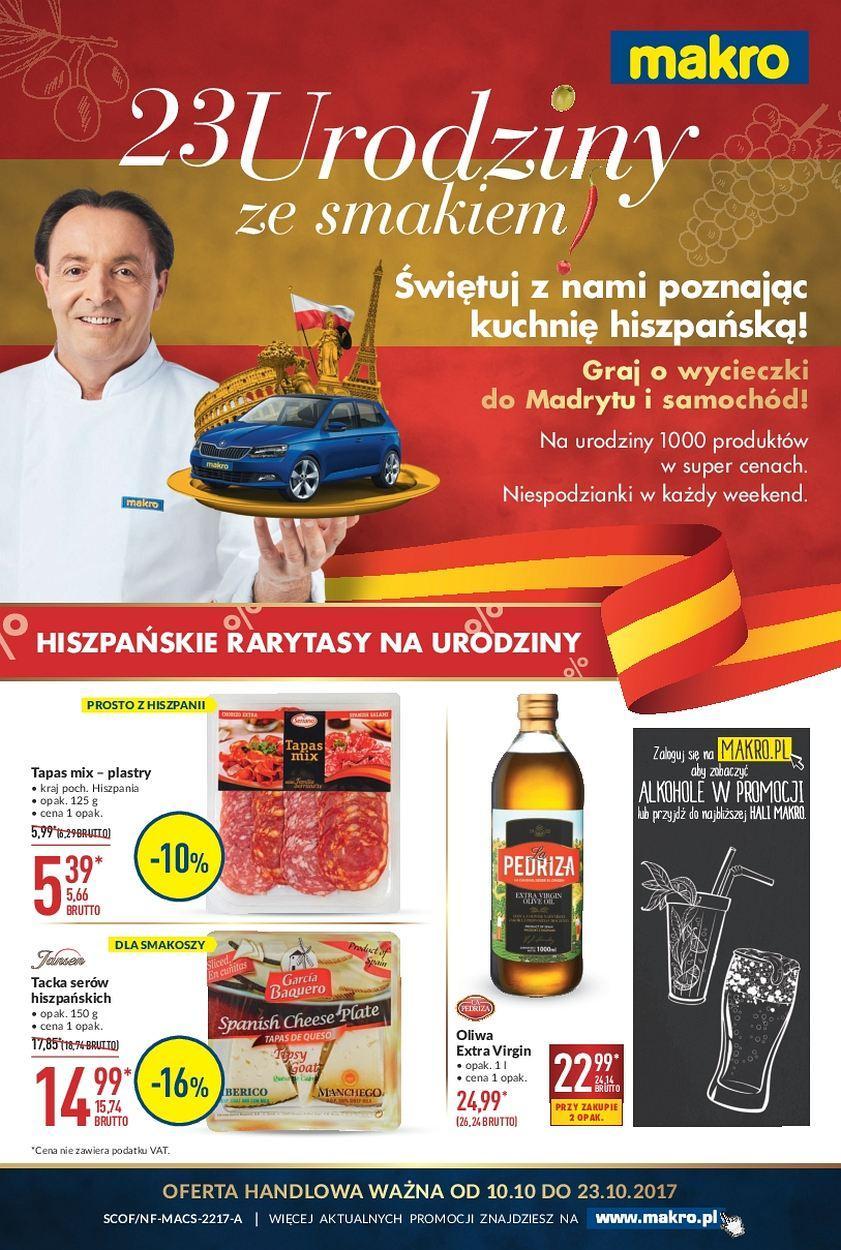 Gazetka promocyjna MAKRO do 23/10/2017 str.0