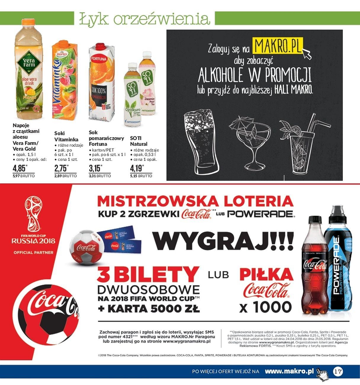 Gazetka promocyjna MAKRO do 21/05/2018 str.17