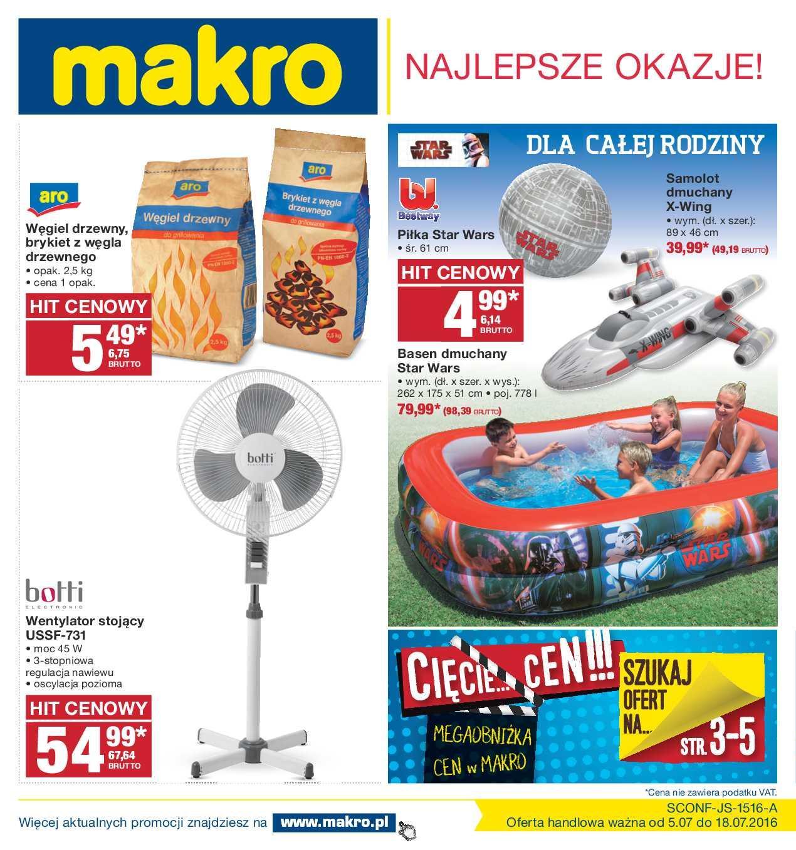 Gazetka promocyjna MAKRO do 18/07/2016 str.0