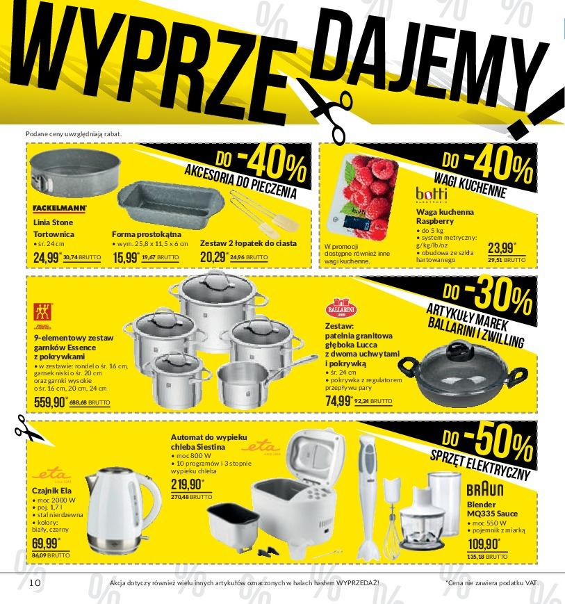 Gazetka promocyjna MAKRO do 14/01/2019 str.10