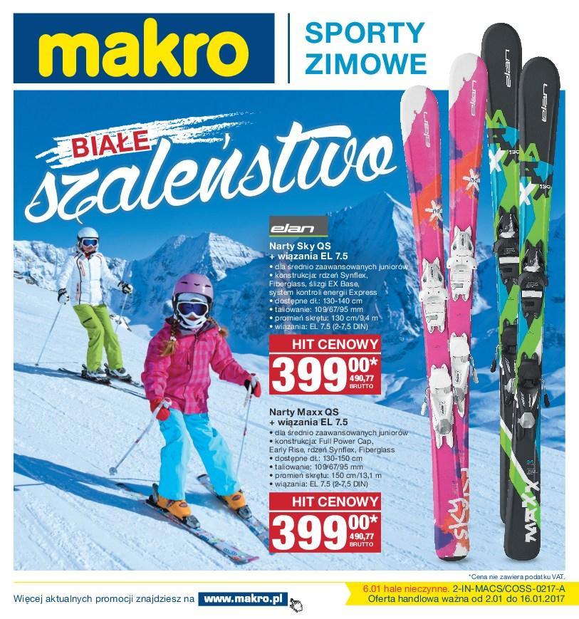 Gazetka promocyjna MAKRO do 16/01/2017 str.0