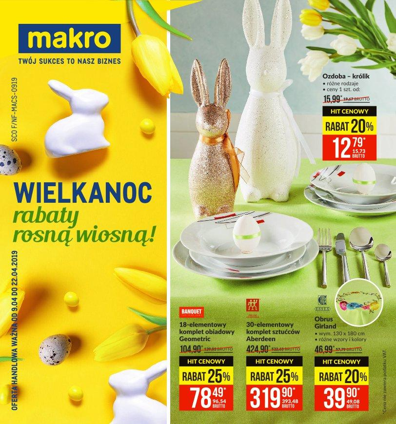 Gazetka promocyjna MAKRO do 22/04/2019 str.1