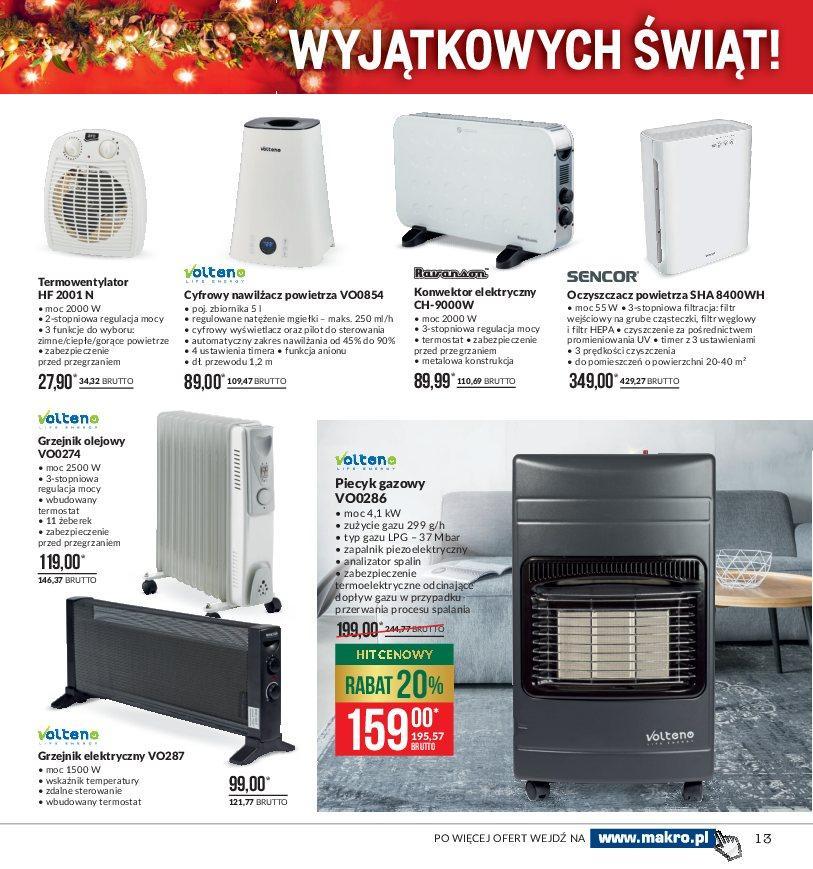 Gazetka promocyjna MAKRO do 24/12/2018 str.13