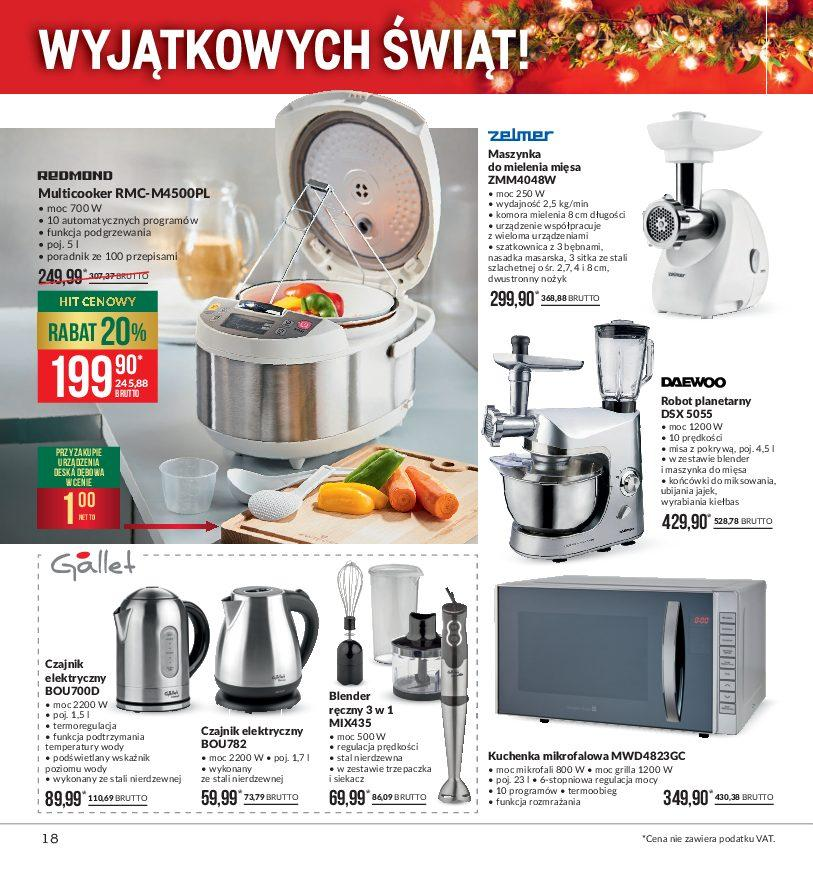 Gazetka promocyjna MAKRO do 24/12/2018 str.18