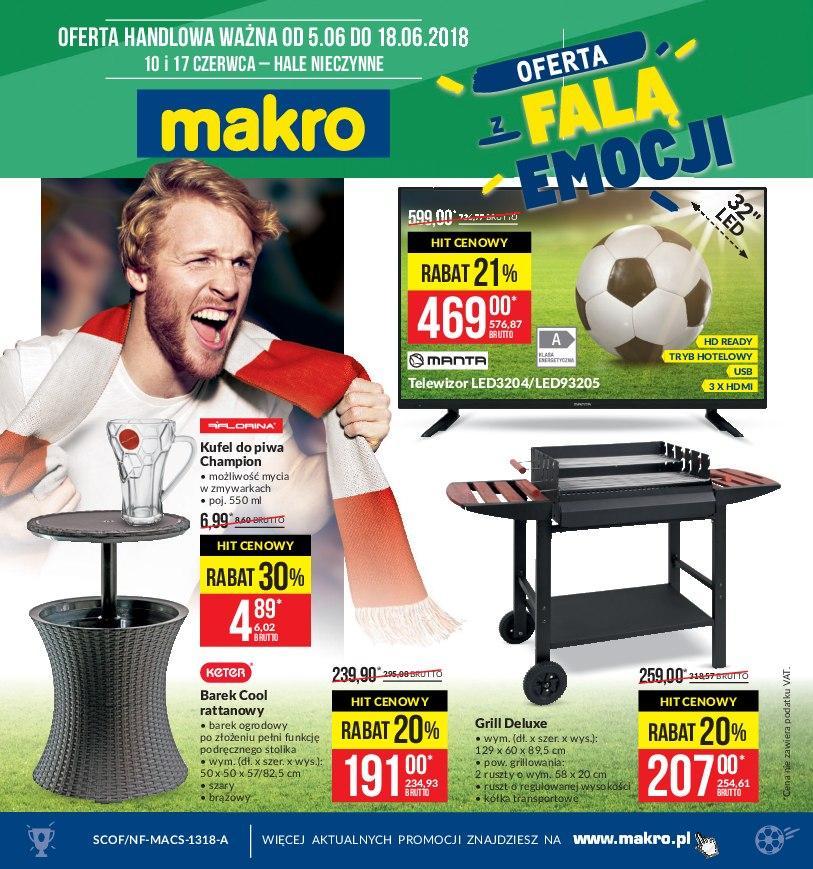 Gazetka promocyjna MAKRO do 18/06/2018 str.0