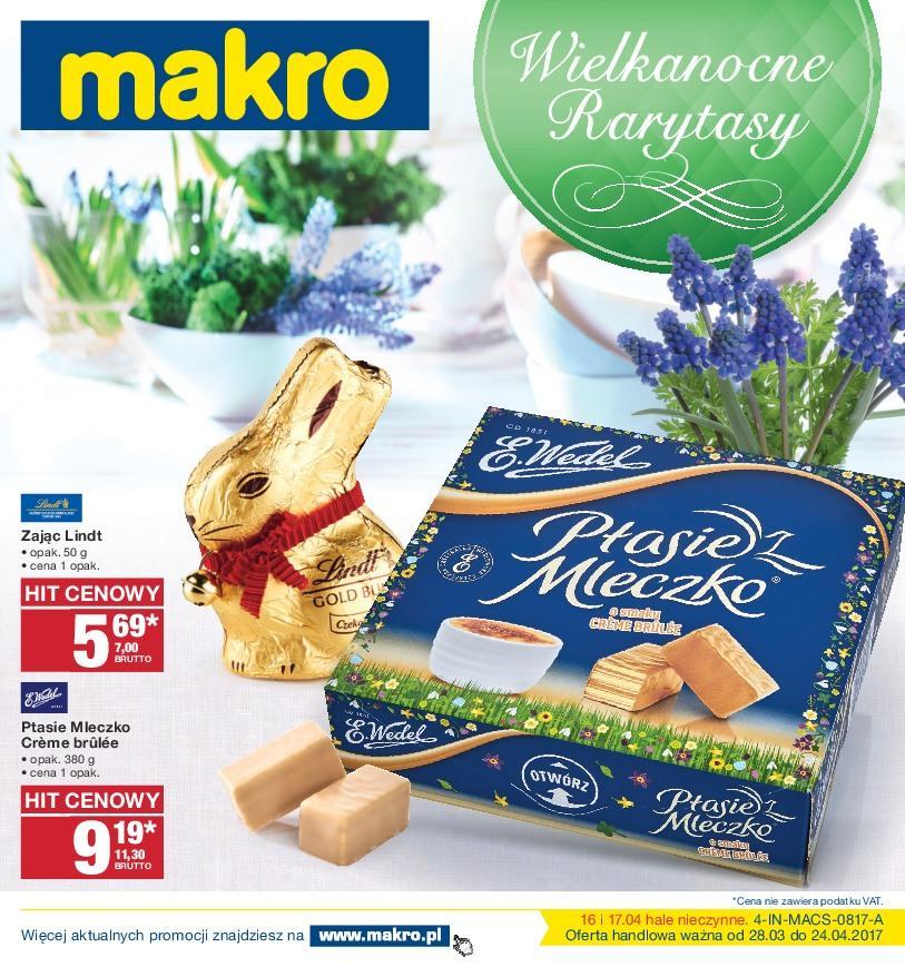 Gazetka promocyjna MAKRO do 10/04/2017 str.0
