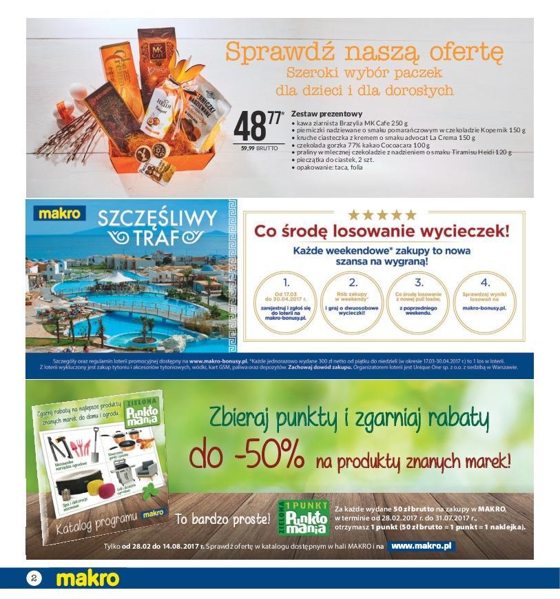 Gazetka promocyjna MAKRO do 10/04/2017 str.1