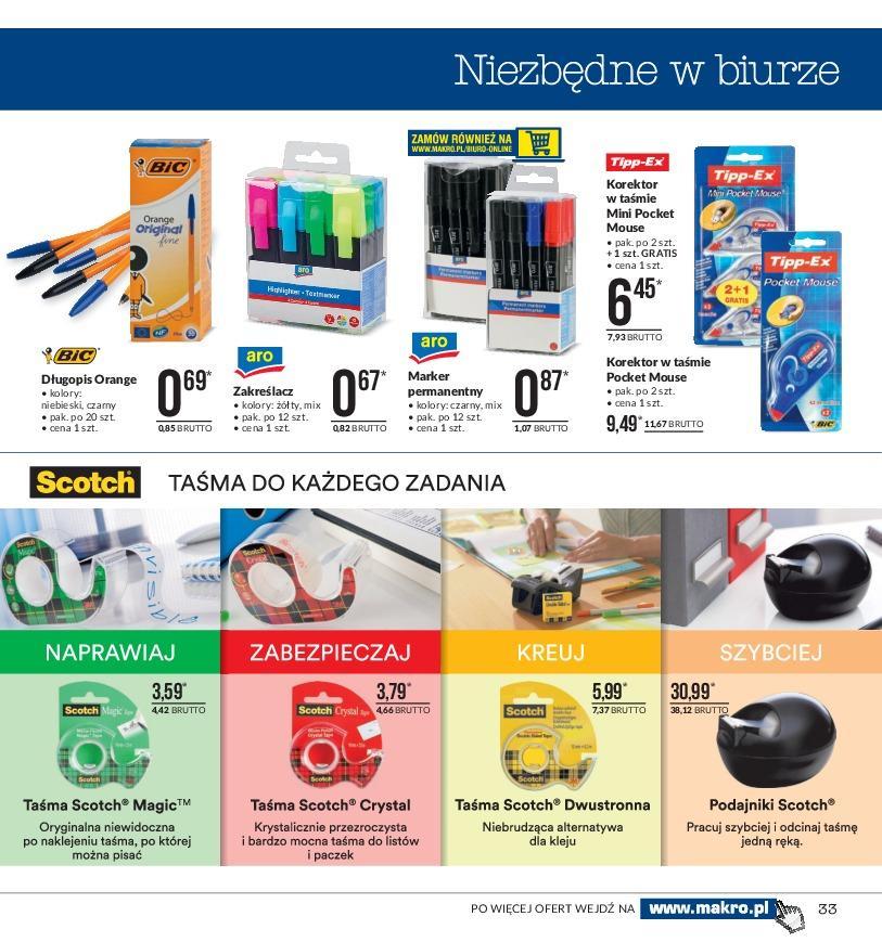 Gazetka promocyjna MAKRO do 19/11/2018 str.33