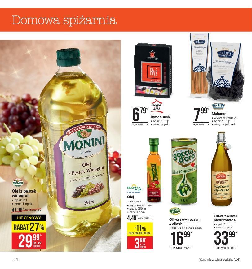 Gazetka promocyjna MAKRO do 19/11/2018 str.14