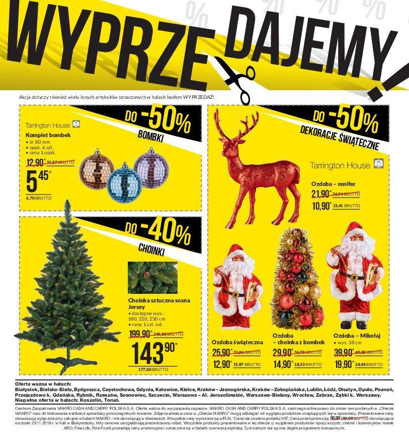 Gazetka promocyjna MAKRO do 31/12/2018 str.1