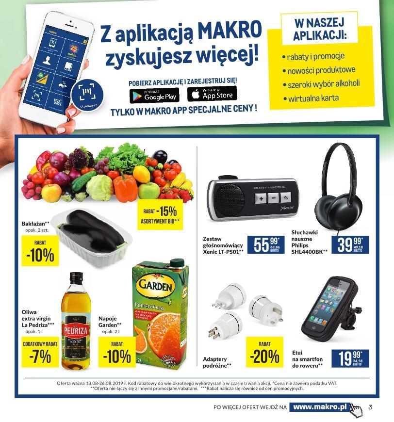 Gazetka promocyjna MAKRO do 26/08/2019 str.3
