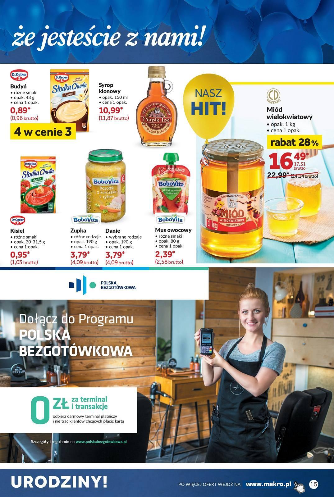 Gazetka promocyjna MAKRO do 08/10/2018 str.13